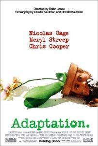 Película: Adaptation. El ladrón de orquídeas