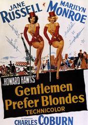 Película: Los caballeros las prefieren rubias