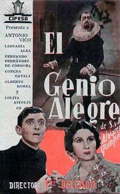 Película: El genio alegre (1939)