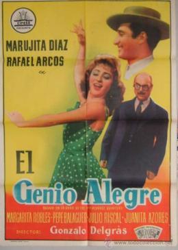 Película: El genio alegre (1957)