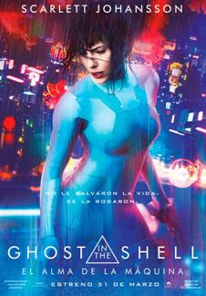 Película: Ghost in the shell. El alma de la máquina