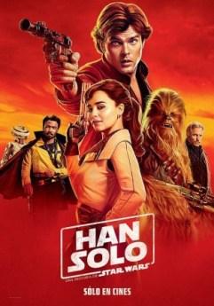 Película: Han Solo. Una historia de Star Wars