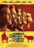 Película: Los hombres que miraban fijamente a las cabras