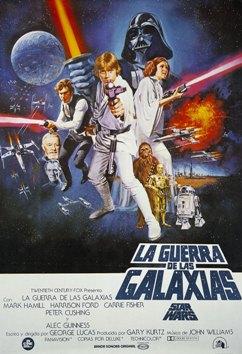 Película: La guerra de las galaxias