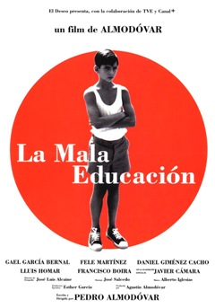 Película: La mala educación