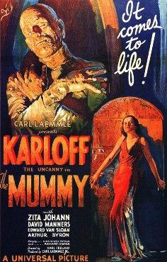 Película: La momia (1932)
