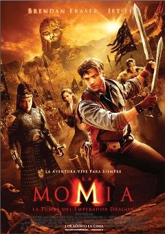 Película: La momia. La tumba del emperador Dragón
