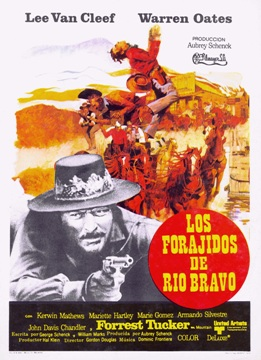 Película: Los forajidos de Río Bravo