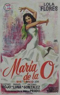 Película: María de la O (1958)