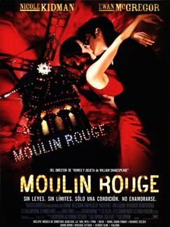 Película: Moulin Rouge (2001)