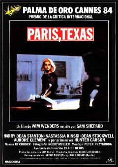 Película: Paris, Texas