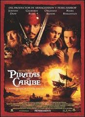 Película: Piratas del Caribe. La maldición de la Perla Negra