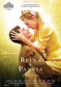 Película: Reina y patria