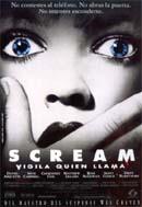 Película: Scream. Vigila quien llama